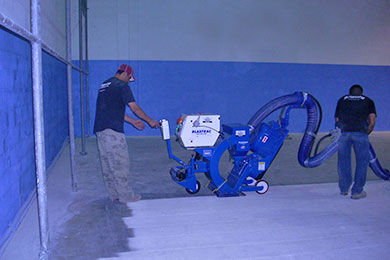 Concrete Coating Application