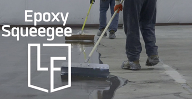 Epoxy Floor squeegee