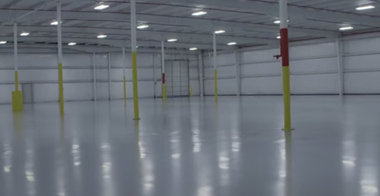 corporate epoxy floor concrete polish