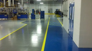 Learn how an industrial epoxy floor coating can enhance for Liquid lino floor paint