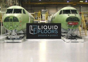 Gulfstream Epoxy Flooring Installation By Liquid Floors Industrial Flooring