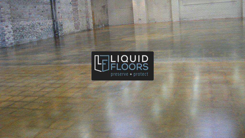 Art Store Industrial Stained Concrete Floor Savannah Georgia Liquid Floors After