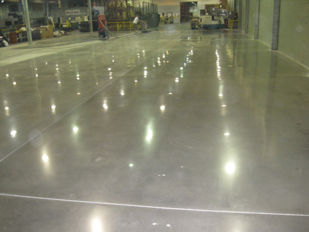 Ellcon Industrial Concrete Polished Floor By Liquid Floors Greenville, South Carolina