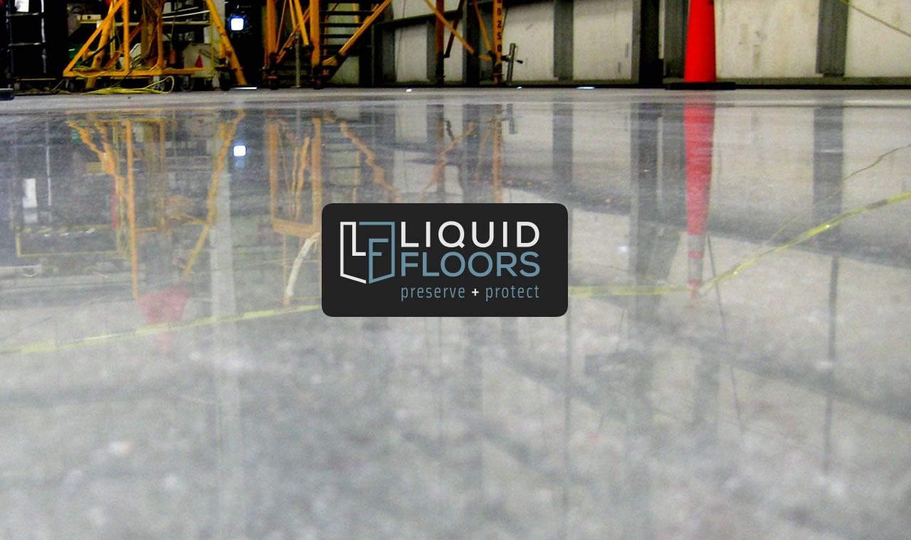 Aviation Industrial Concrete Polishing