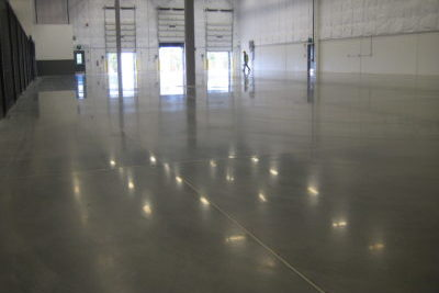 Liquid Floors industrial concrete polishing