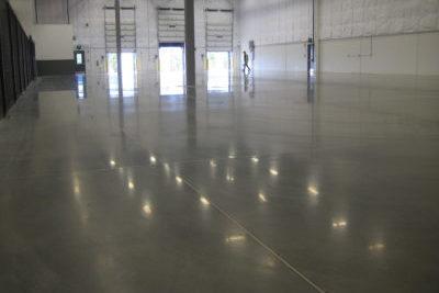 Liquid Floors industrial concrete polishing