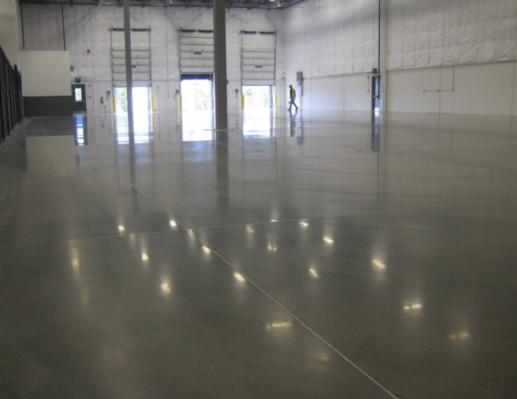 Liquid Floors Concrete Polishing in Action