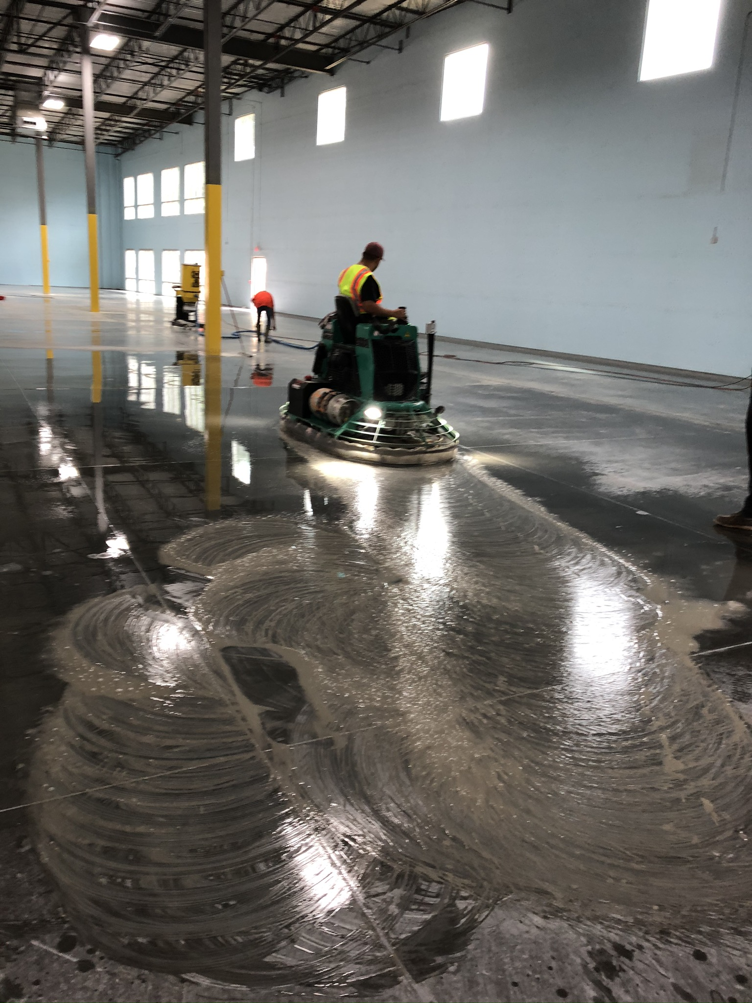 Concrete Polishing wet and dry